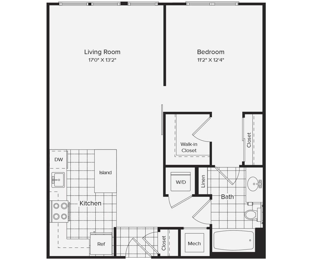 1 Bedroom 1 Bathroom Apartment for rent at Avalon Dunn Loring in Vienna, VA