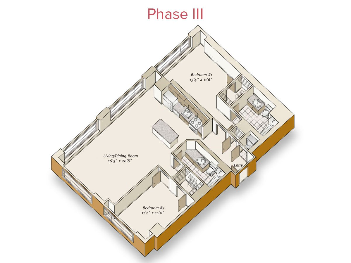 2 Bedrooms 2 Bathrooms Apartment for rent at Avalon at Mission Bay in San Francisco, CA
