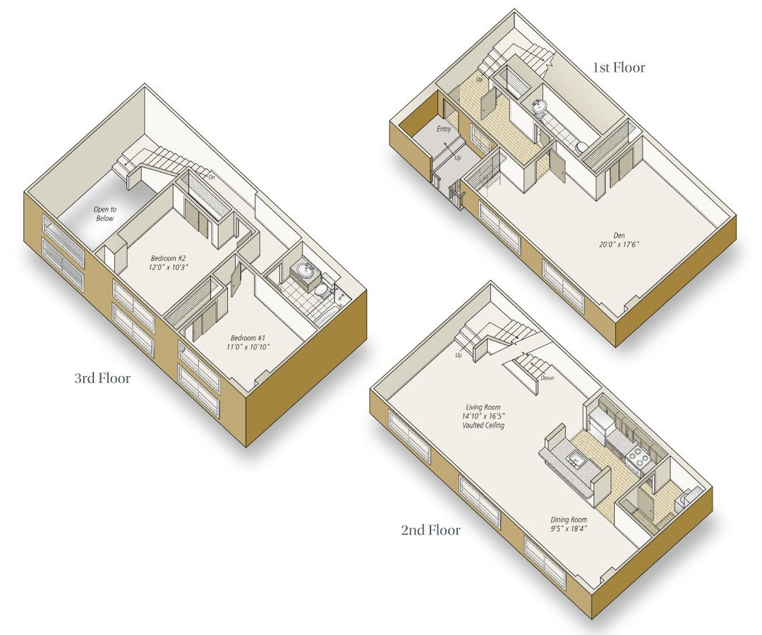 3 Bedrooms 2 Bathrooms Apartment for rent at Avalon at Mission Bay in San Francisco, CA