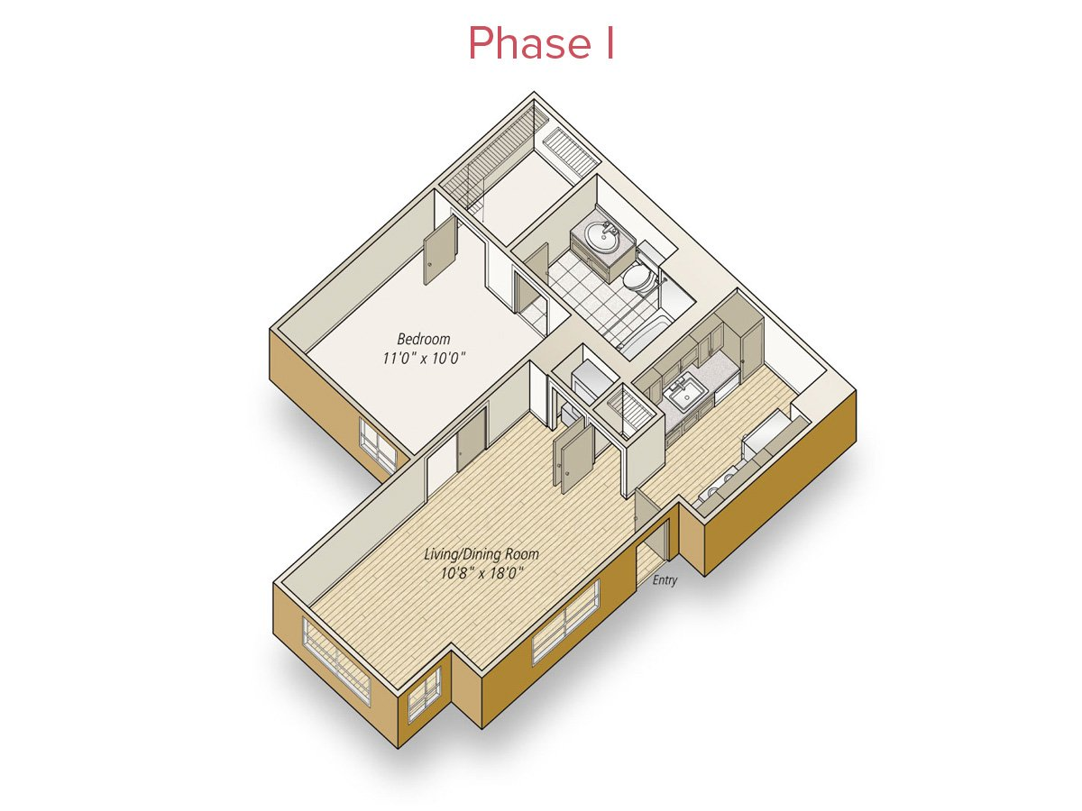 1 Bedroom 1 Bathroom Apartment for rent at Avalon at Mission Bay in San Francisco, CA
