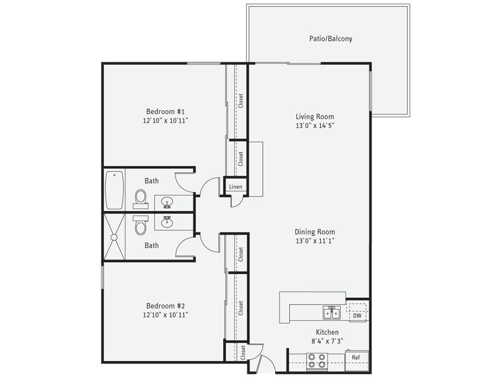 Studio 2 Bathrooms Apartment for rent at AVA Pacific Beach in San Diego, CA