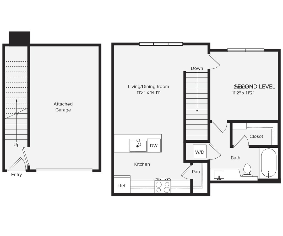 1 Bedroom 1 Bathroom Apartment for rent at Avalon Red Rocks in Littleton, CO