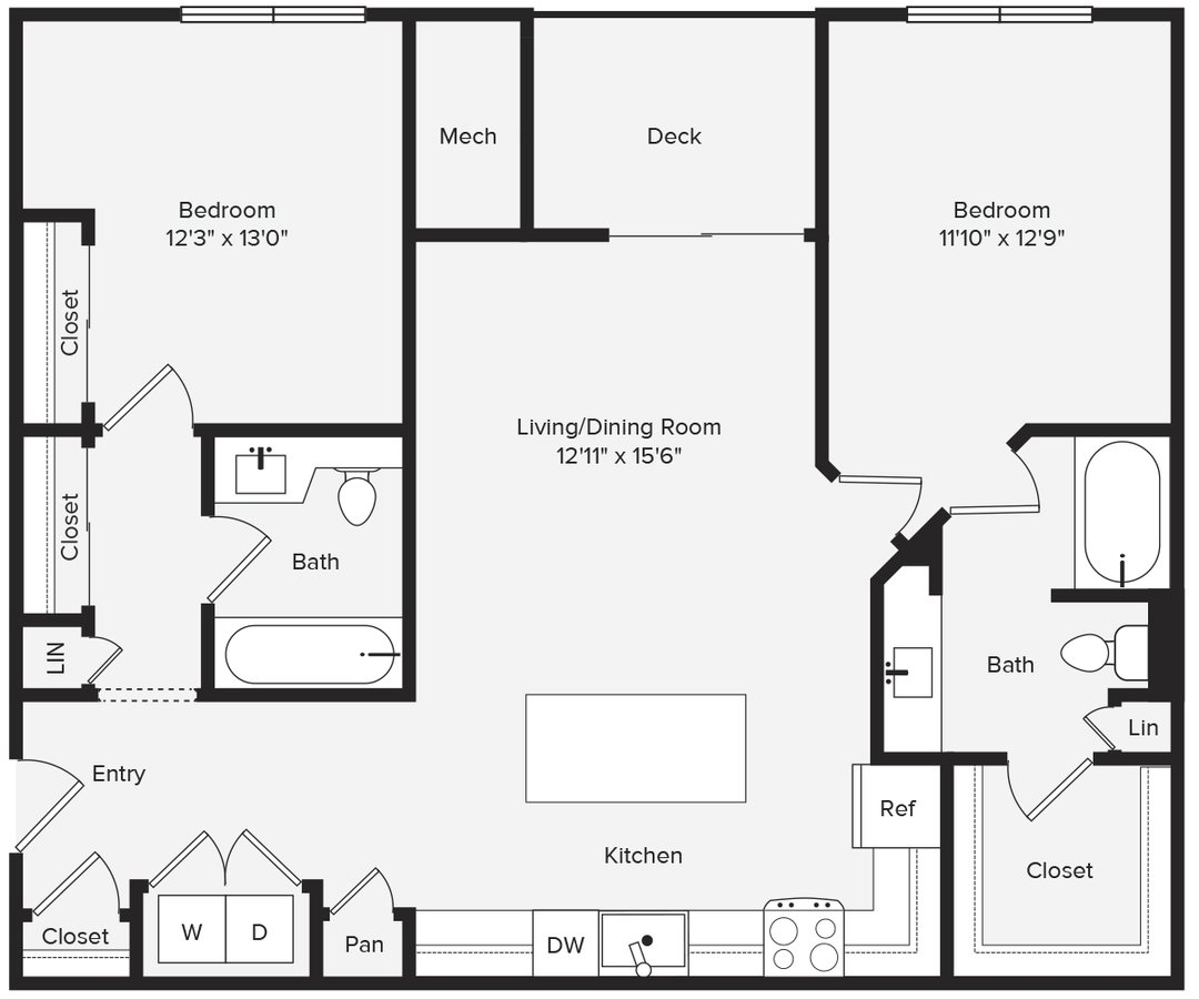 2 Bedrooms 2 Bathrooms Apartment for rent at Avalon Red Rocks in Littleton, CO