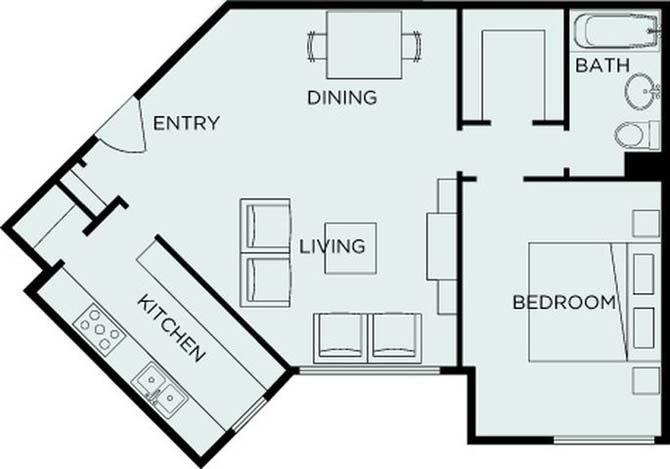 1 Bedroom 1 Bathroom Apartment for rent at Parkmerced in San Francisco, CA