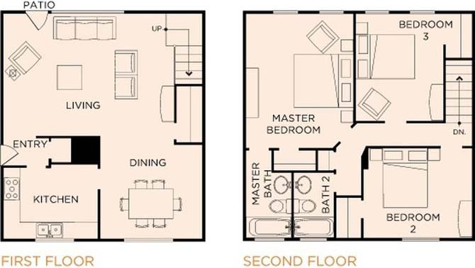 3 Bedrooms 2 Bathrooms Apartment for rent at Parkmerced in San Francisco, CA