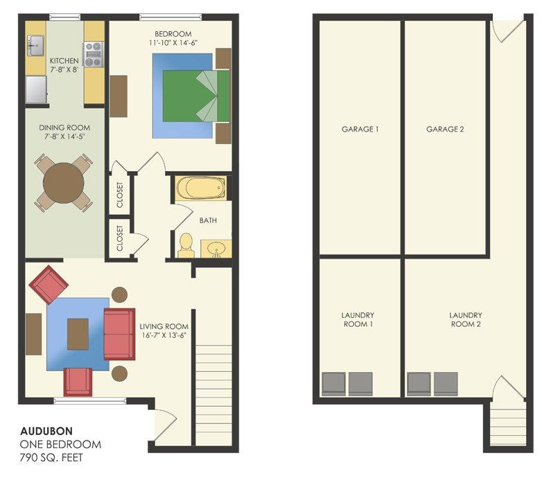 1 Bedroom 1 Bathroom Apartment for rent at Audubon Homes in Philadelphia, PA
