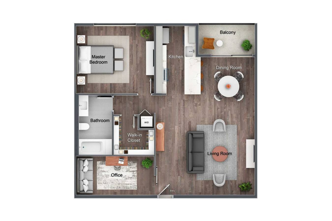 1 Bedroom 1 Bathroom Apartment for rent at Element WeHo in West Hollywood, CA