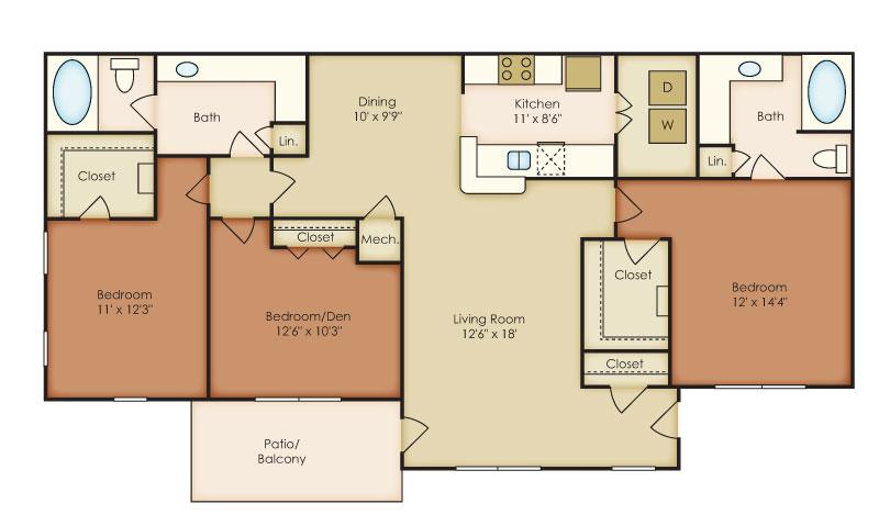Crestmark Apartment Homes