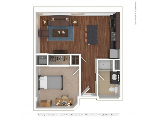 1 Bedroom 1 Bathroom Apartment for rent at Sydney Hall and Dinkydome in Minneapolis, MN