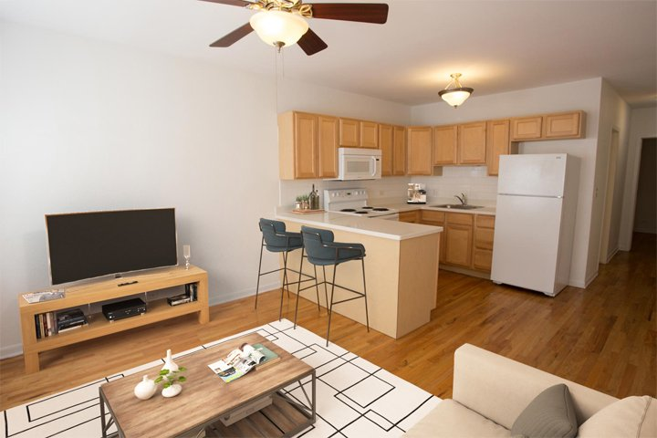 1 Bedroom 1 Bathroom Apartment for rent at Drexel Grand in Chicago, IL