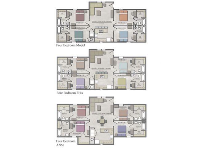 4 Bedrooms 4+ Bathrooms Apartment for rent at The Cottages of Boone in Boone, NC