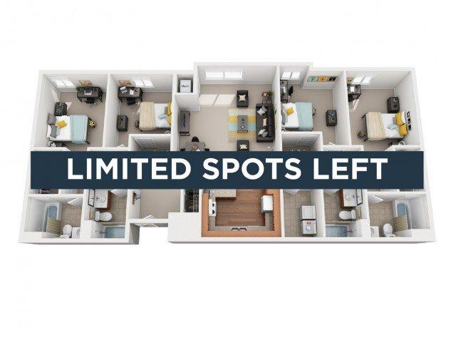4 Bedrooms 4+ Bathrooms Apartment for rent at Vivo Toledo in Toledo, OH