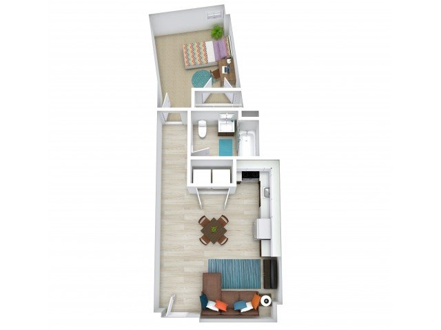 1 Bedroom 1 Bathroom Apartment for rent at The Tradition in College Station, TX