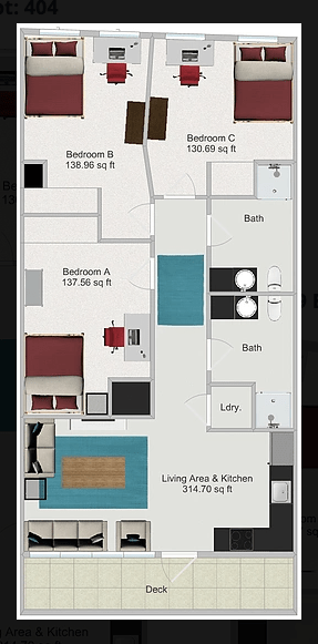 3 Bedrooms 2 Bathrooms Apartment for rent at Northstar Dinkytown in Minneapolis, MN