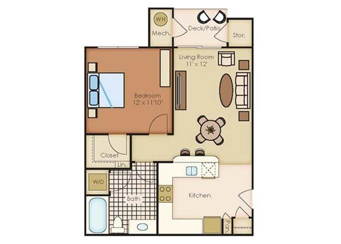 1 Bedroom 1 Bathroom Apartment for rent at Outlook Littleton in Littleton, CO