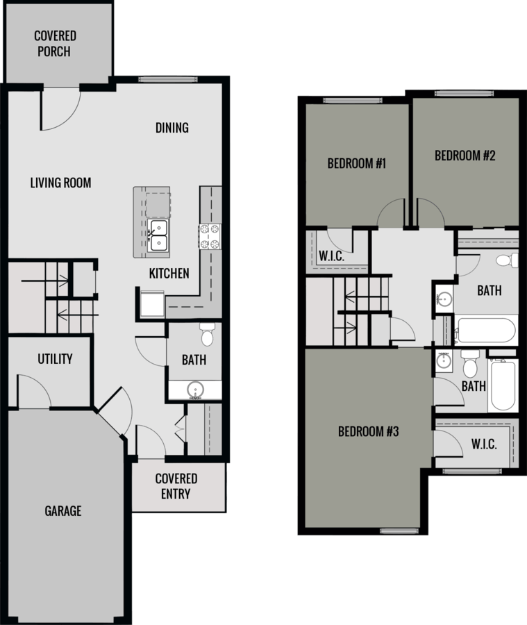 3 Bedrooms 2 Bathrooms Apartment for rent at Union Square in Appleton, WI