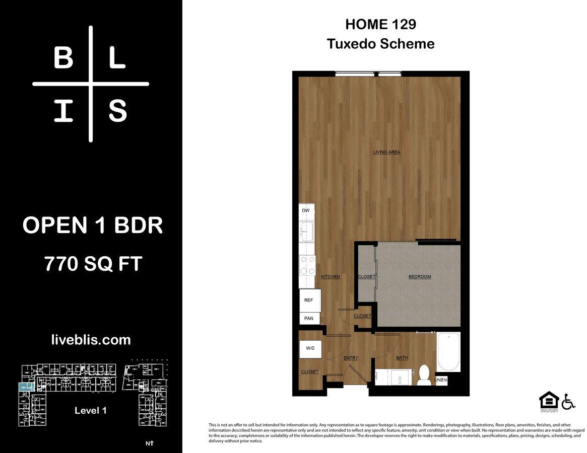 1 Bedroom 1 Bathroom Apartment for rent at BLIS in Bainbridge Island, WA