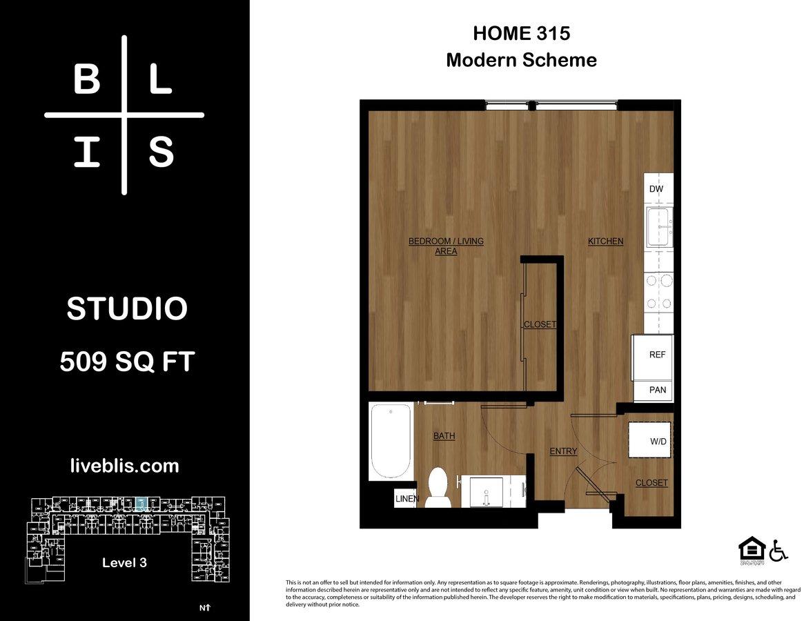 Studio 1 Bathroom Apartment for rent at BLIS in Bainbridge Island, WA