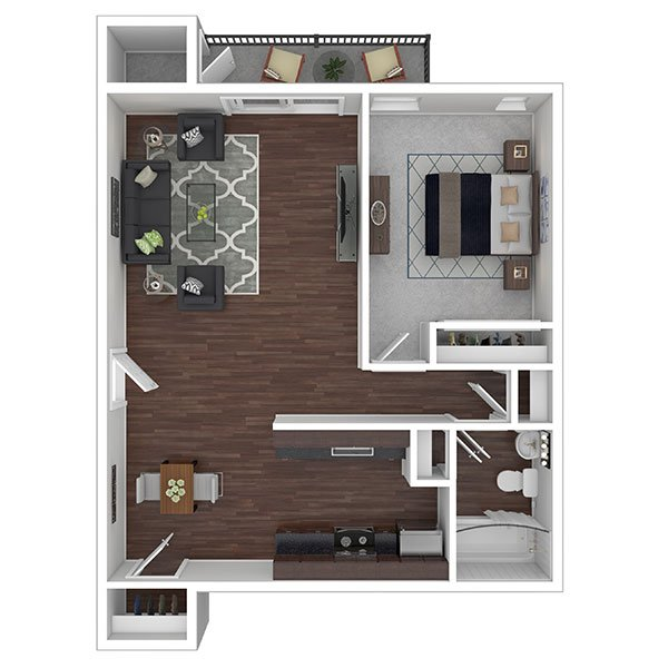 1 Bedroom 1 Bathroom Apartment for rent at Crane Village Apartments in Pittsburgh, PA