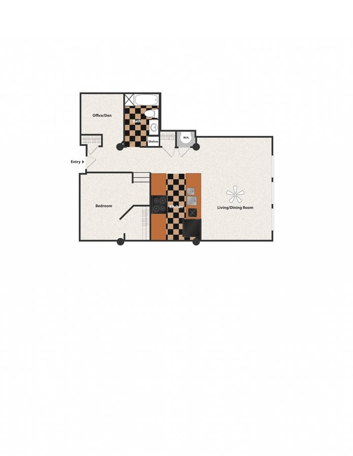 1 Bedroom 1 Bathroom Apartment for rent at Sycamore Place in Cincinnati, OH
