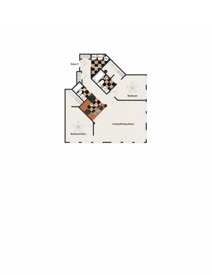 2 Bedrooms 2 Bathrooms Apartment for rent at Sycamore Place in Cincinnati, OH