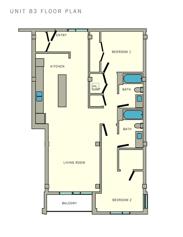2 Bedrooms 2 Bathrooms Apartment for rent at Aviator at Brooks in San Antonio, TX