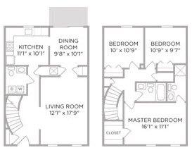 3 Bedrooms 2 Bathrooms Apartment for rent at Village of Coldstream in Cincinnati, OH