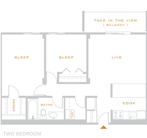 2 Bedrooms 1 Bathroom Apartment for rent at Skyline 1801 in Denver, CO