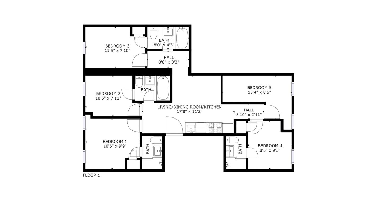 Private Room in Sleek East Williamsburg Apartment with Great Backyard rental