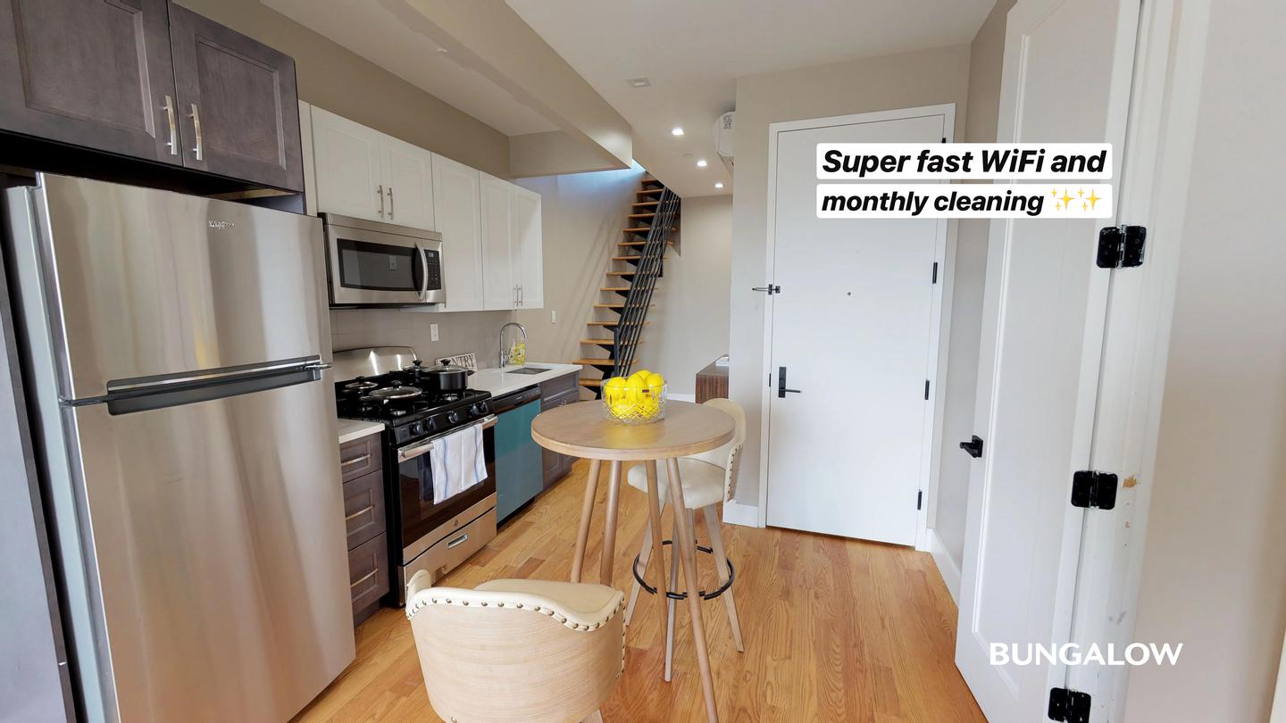 Private Bedroom in Gorgeous Recently Updated Bushwick Apartment Steps from the J photo