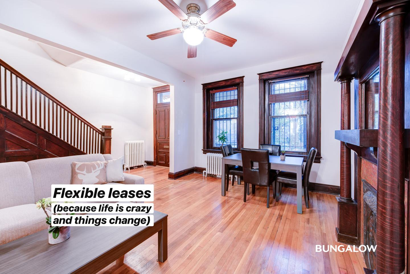 Private Bedroom in Stylish Columbia Heights Townhome With Brick Patio for rent