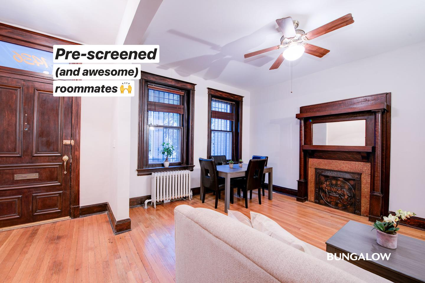 Live at Private Bedroom in Stylish Columbia Heights Townhome With Brick Patio