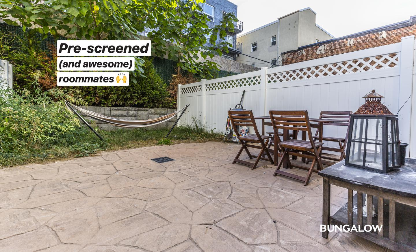 Live at Private Room in Wonderful Williamsburg Duplex With Rooftop Lounge