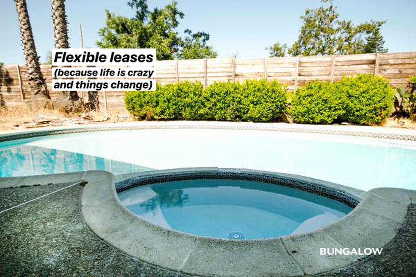 Private Room in Lovely Sunnyvale Home with Backyard Pool rental