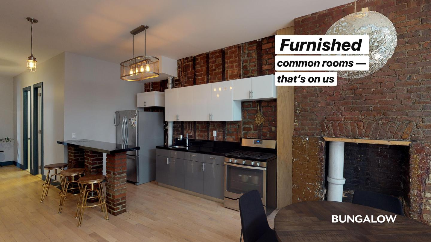 Private Room in Contemporary Greenpoint Apartment Near Nassau Ave Station photo