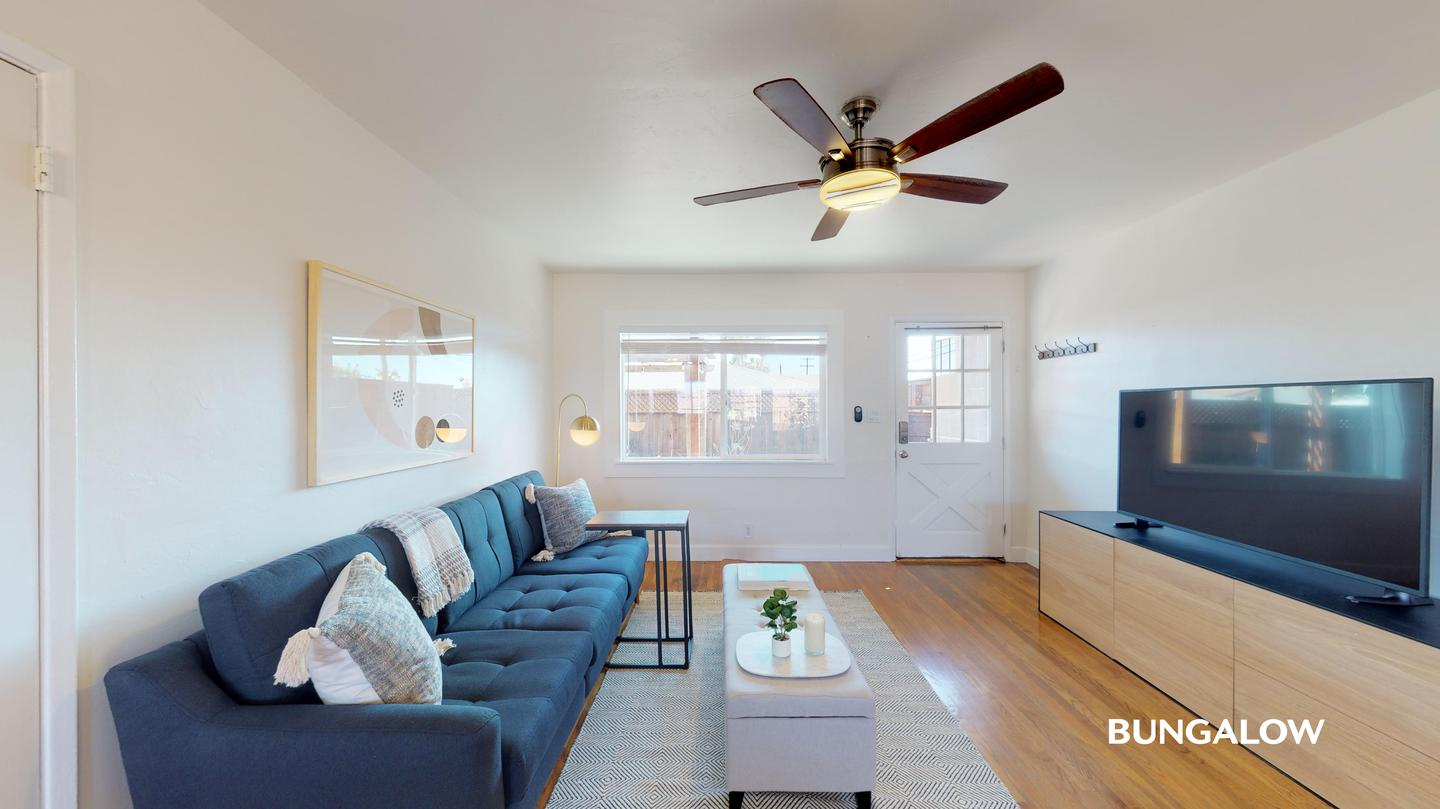 Private Bedroom in Lovely North Park Home With Charming Patio