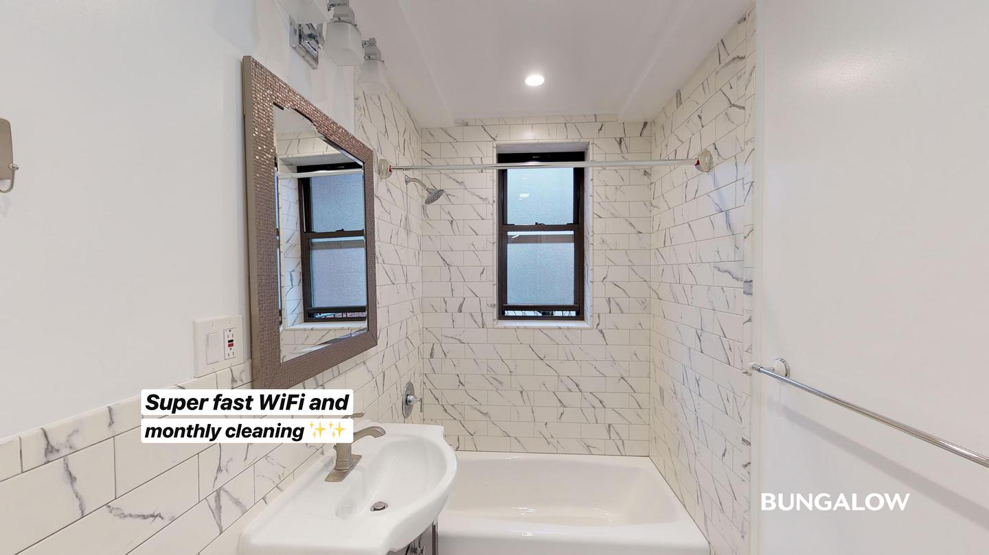 Private Bedroom in Bright Harlem Apartment Near Central Park North rental