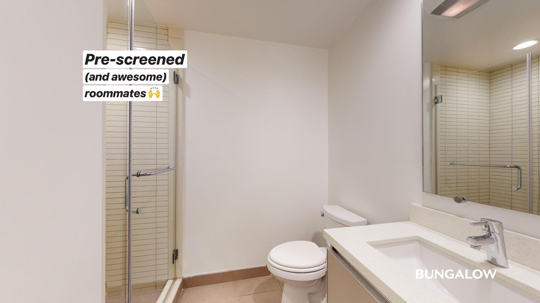 Live at Private Bedroom in Polished Sherman Oaks Apartment off Sepulveda Blvd