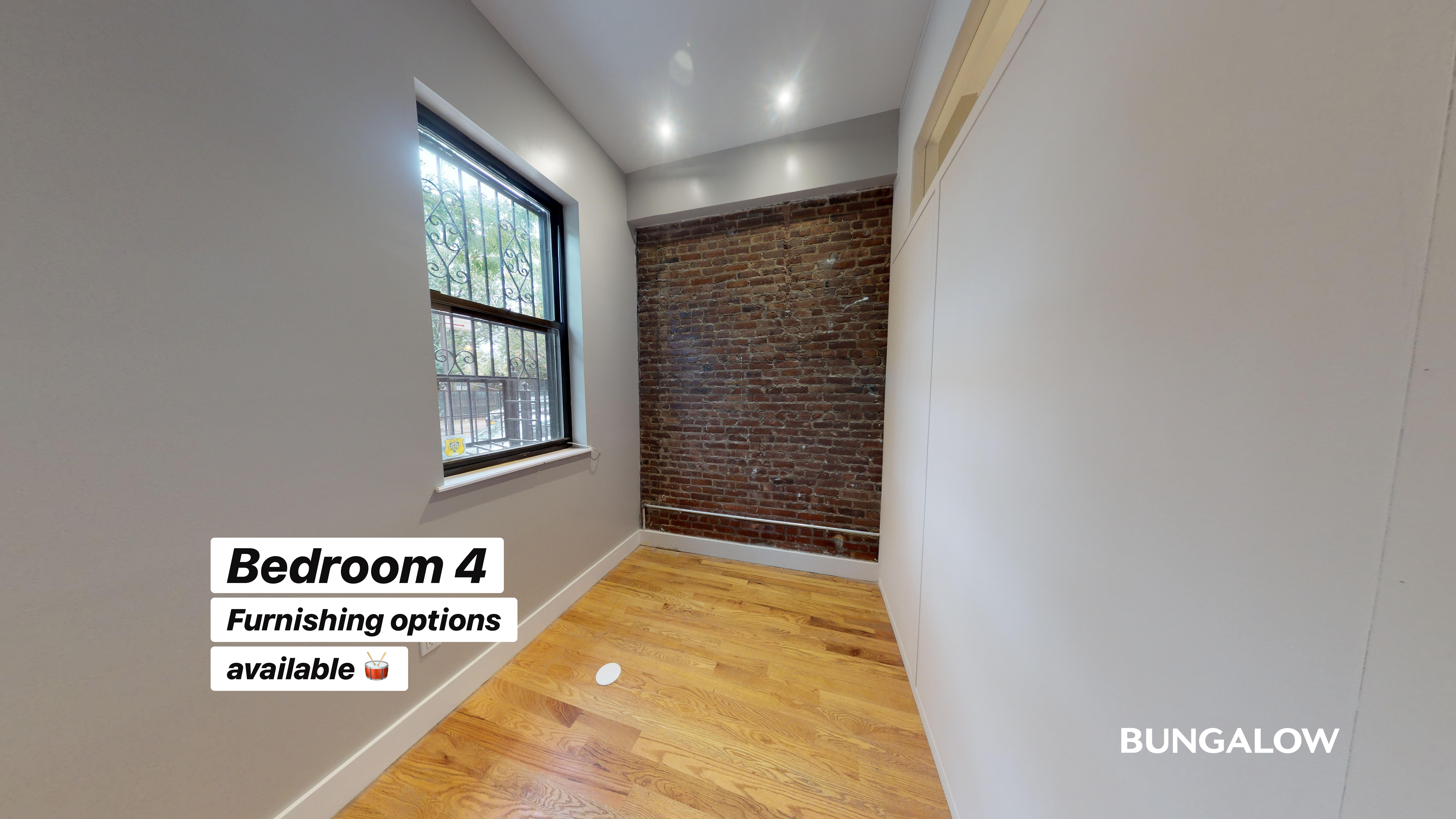 Private Bedroom in Beautiful Bushwick Home With Backyard Patio