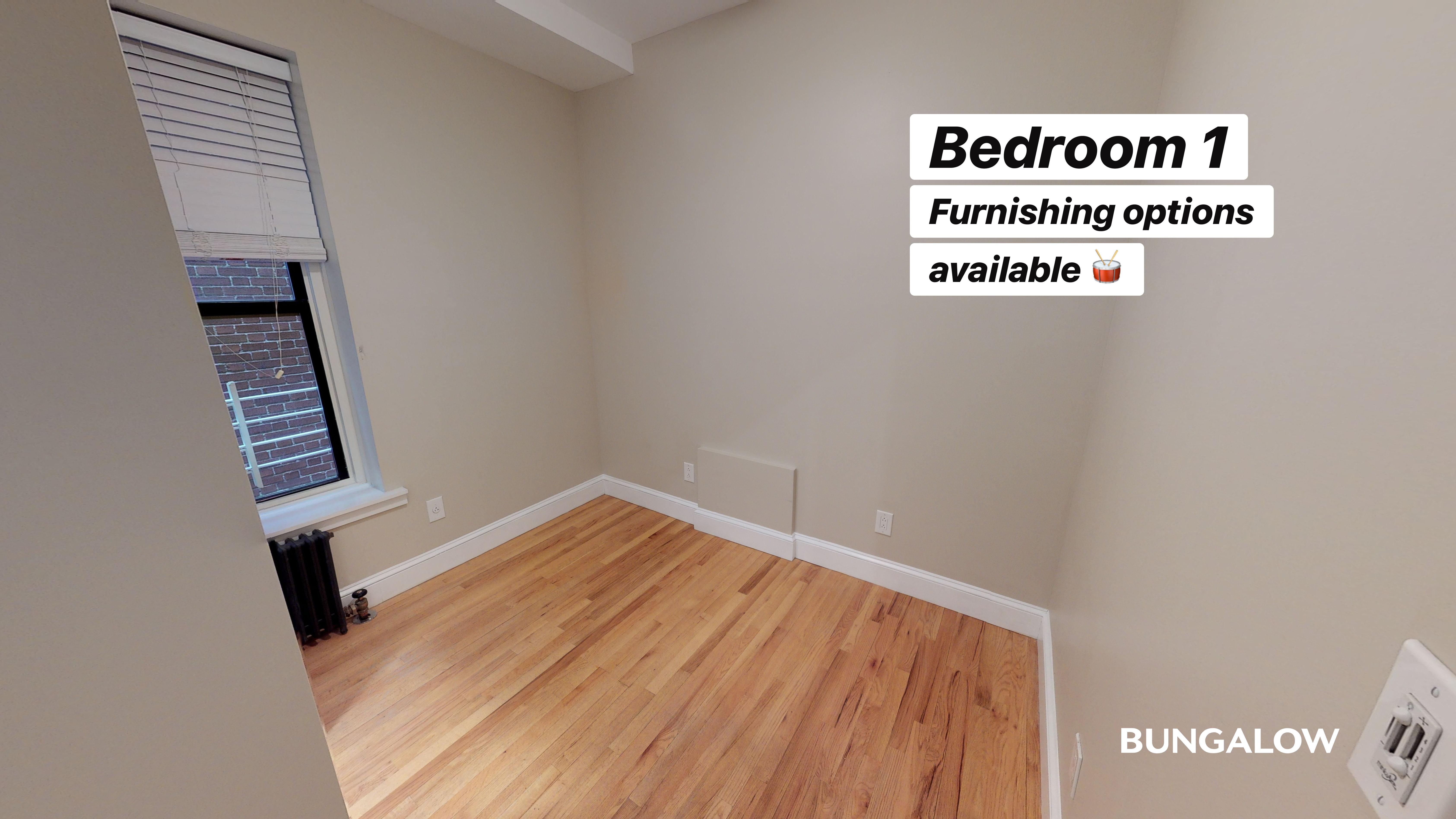 Private Bedroom in Bright Harlem Apartment Near Central Park North