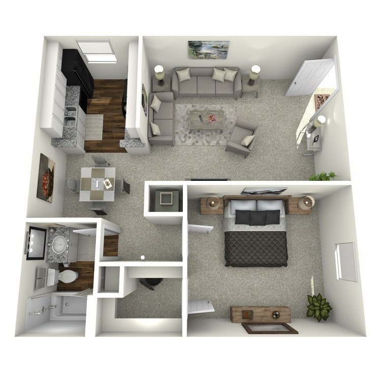 1 Bedroom 1 Bathroom Apartment for rent at Reserve At Forest Ridge in Conroe, TX