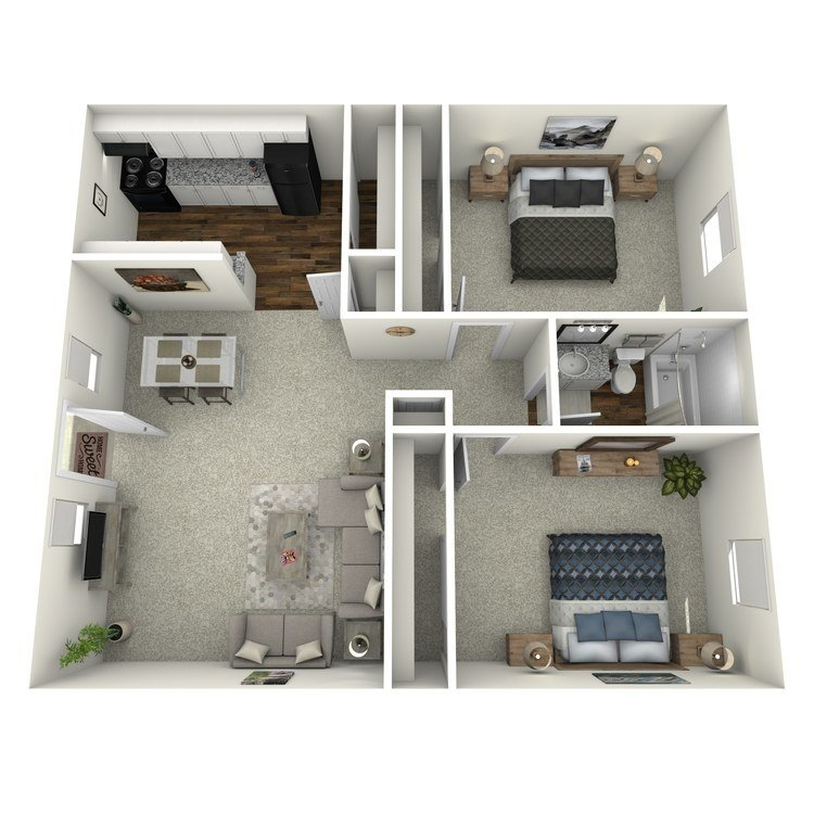 2 Bedrooms 1 Bathroom Apartment for rent at Reserve At Forest Ridge in Conroe, TX