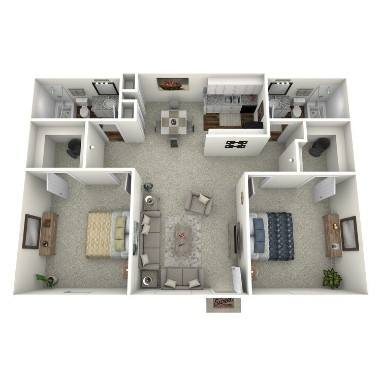 2 Bedrooms 2 Bathrooms Apartment for rent at Reserve At Forest Ridge in Conroe, TX