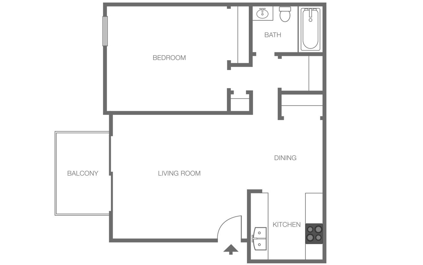 1 Bedroom 1 Bathroom Apartment for rent at Spyglass Creek in Denver, CO