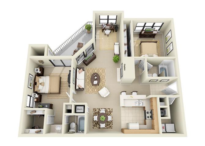 The Arbors at Breckinridge Apartment Homes