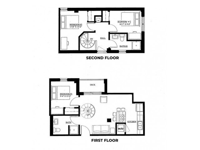 3 Bedrooms 2 Bathrooms Apartment for rent at The Varsity in Madison, WI