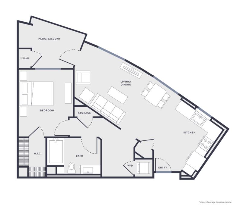 1 Bedroom 1 Bathroom Apartment for rent at Anton Aspire in Milpitas, CA