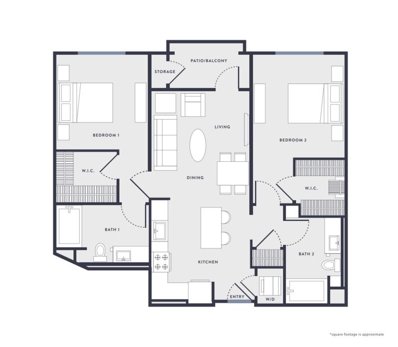 2 Bedrooms 2 Bathrooms Apartment for rent at Anton Aspire in Milpitas, CA
