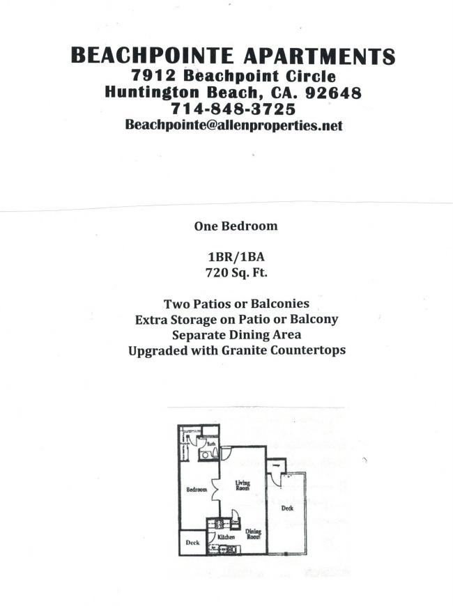 Beachpointe Apartments
