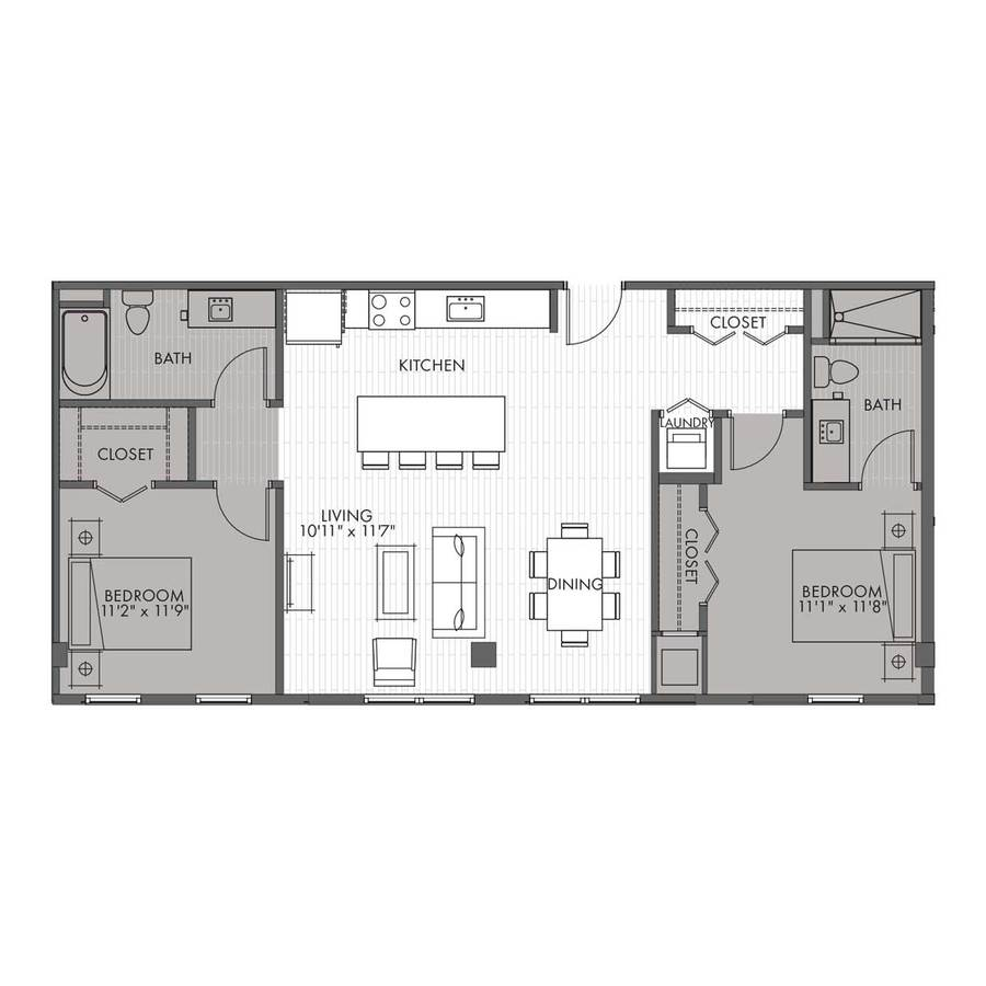 2 Bedrooms 2 Bathrooms Apartment for rent at Vantage On The Park in Milwaukee, WI